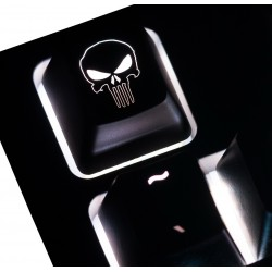 The Punisher - Reversed ABS Backlit Keycap